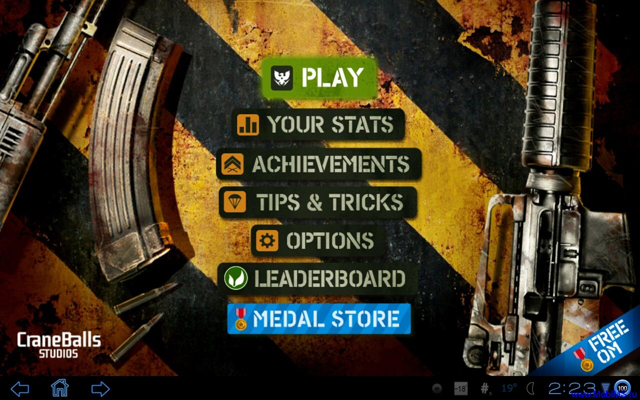 Игра Overkill версия 1.0.4 для Android