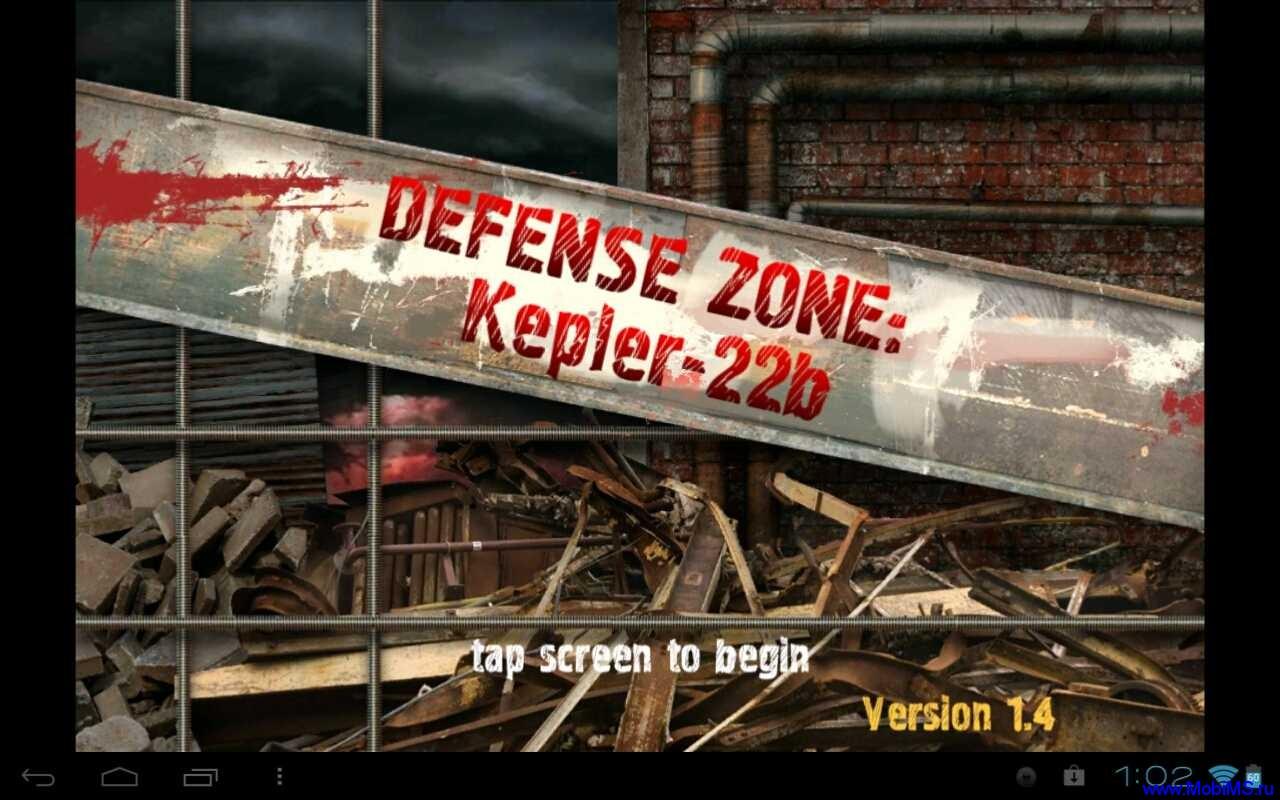 Игра Defense zone для Android