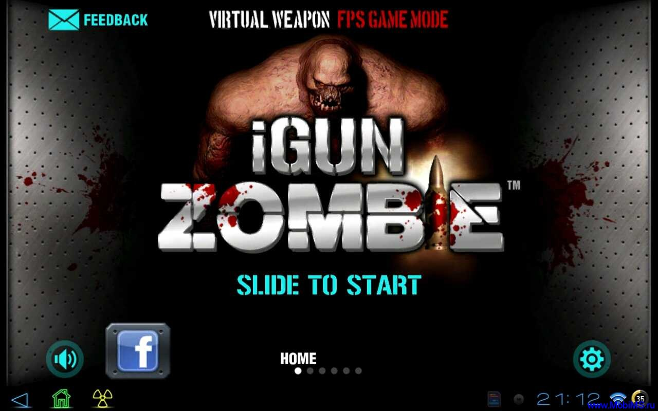 Игра iGun Zombie : FPS + Weaponary версии 1.1.3 для Android