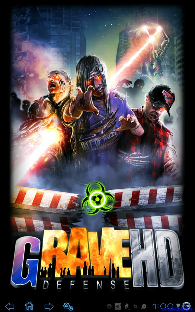 Игра GRave Defense HD версии 1.9.0 для Android