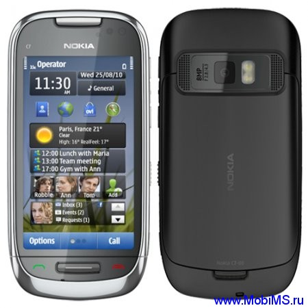 Прошивка версии 111.030.0609 для Nokia C7-00 RM-675