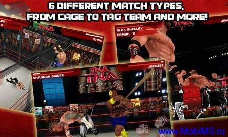 TNA Wrestling iMPACT! для Android