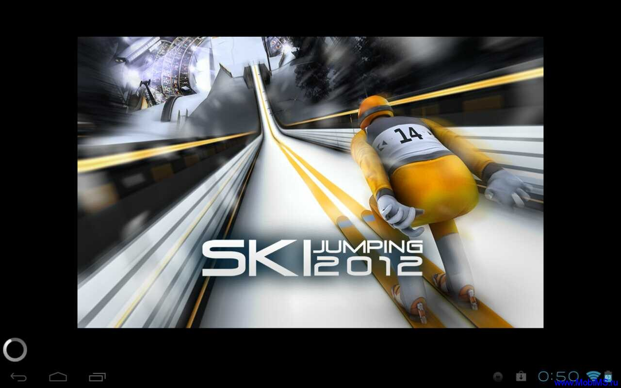 Игра Ski Jumping 12 версия 1.1 для Android