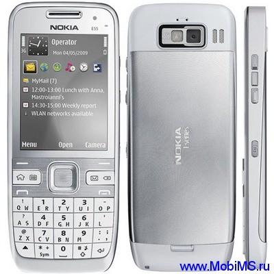 Прошивка для Nokia E55 RM-482 Gr.RUS sw-034.001 v5