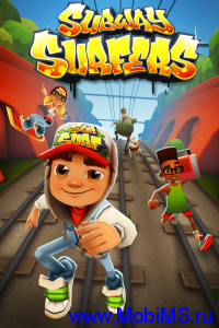 Игра Subway Surfers 1.2.0 для  iPhone 3GS, iPhone 4, iPhone 4S, iPod touch, iPad
