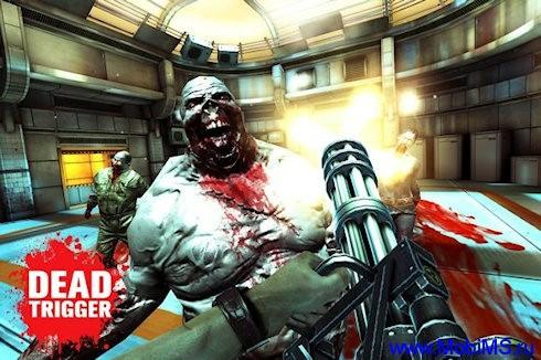 Игра DEAD TRIGGER версия 1.01 с эффектами Tegra 3 для Android