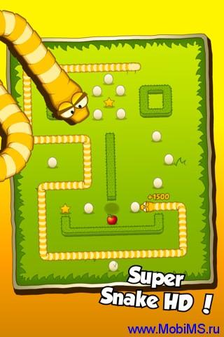 Игра Super Snake v1.0.0 - необычная змейка для Android