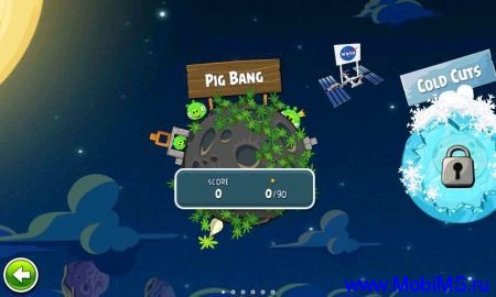 Игра Angry Birds Space Premium для Android