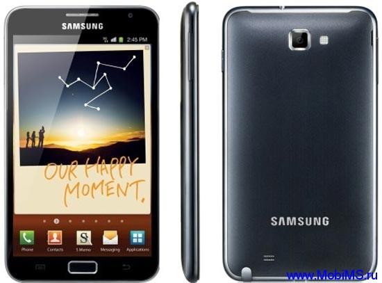 Прошивка для Samsung Galaxy Note N7000(N7000XEKK2, LA6)