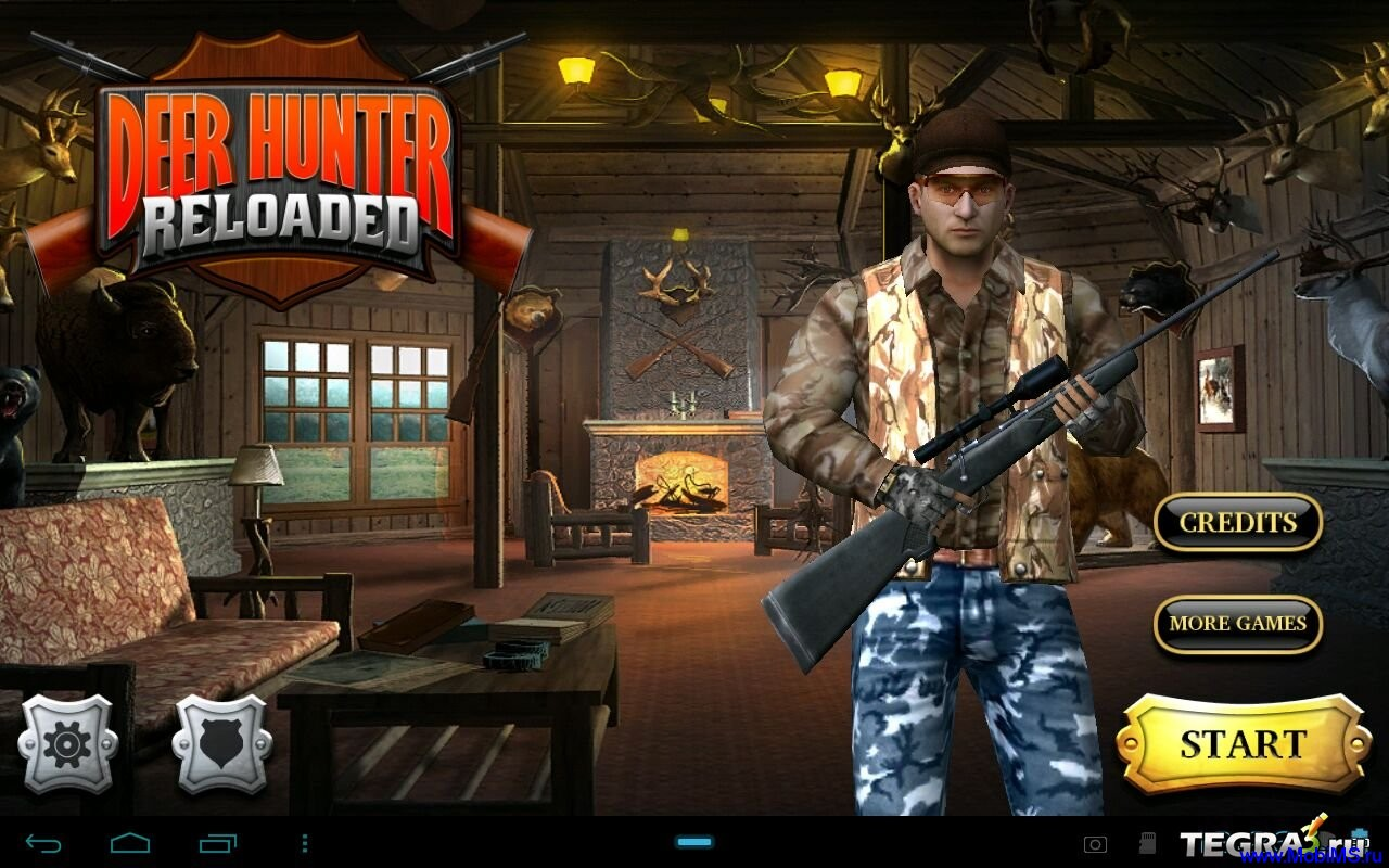 Игра Deer Hunter Reloaded v3.0.1 для Android