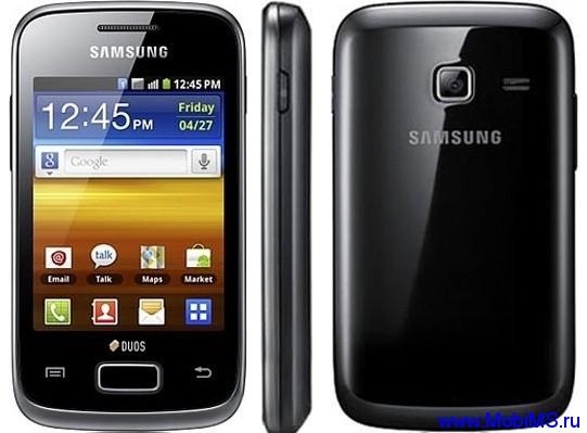 Прошивки S6102XELAA и S6102XELG3 для Samsung S6102 Galaxy Y Duos