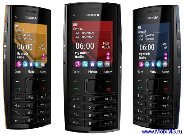 Прошивка для Nokia Х2-02 RM-694 Gr.RUS v11.57