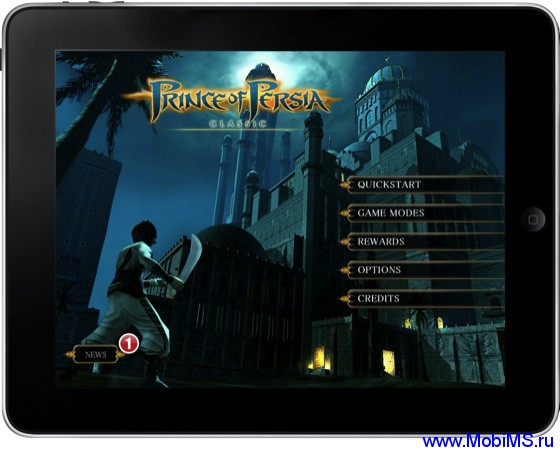 Игра  Prince of Persia Classic версия 1.0 для Android