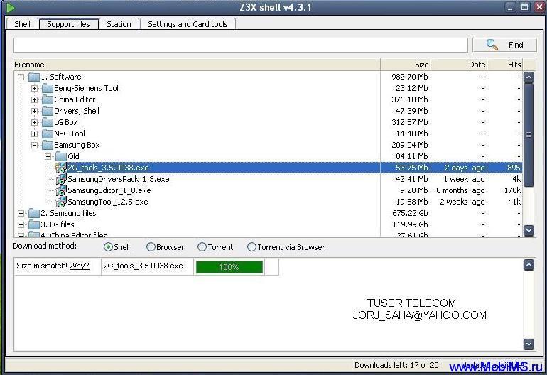 Z3X BOX Samsung 2g tool 3.5.0038 Update