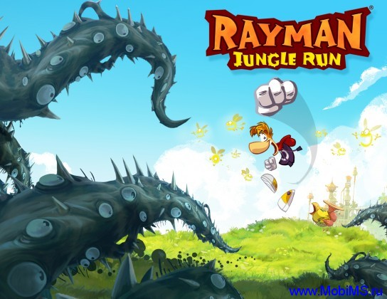 Игра  Rayman Jungle Run версия 1.1 для Android