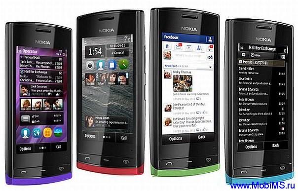 Прошивка для Nokia 500 RM-750 Gr_Rus sw_111.021.0028