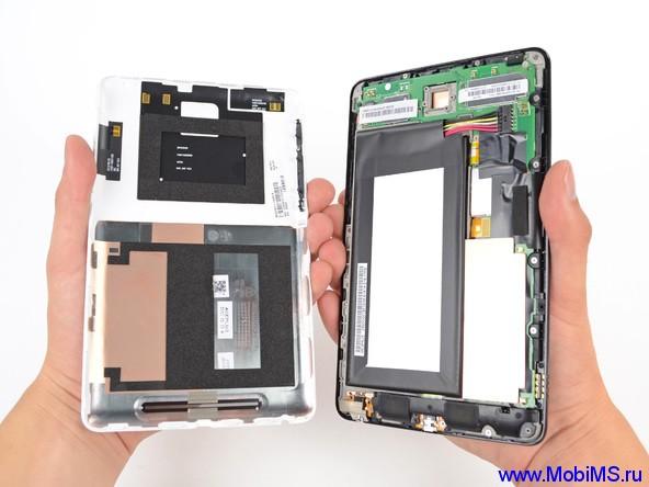 Разбираем планшет Google Nexus 7