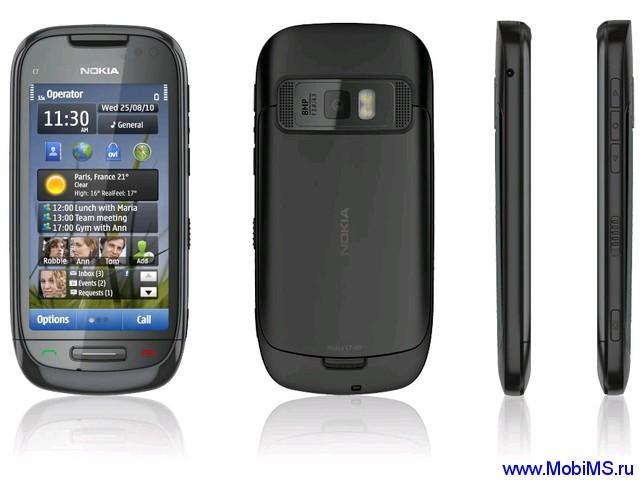 Прошивка для Nokia C7-00 Russia 059D7K9 RM-675 sw 111.030.0609