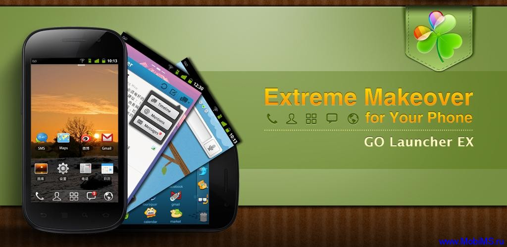 GO Launcher EX v2.71 Final для Android + S.T.A.L.K.E.R. GO Theme Os67