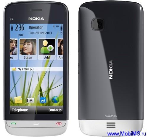Прошивка для Nokia C5-05 RM-815 Gr_Rus sw_22.5.007