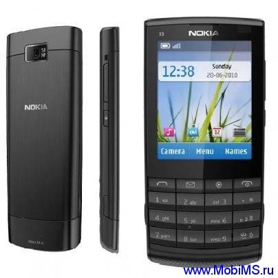 Прошивка для Nokia X3-02 RM-775 Gr_Rus sw_07.58