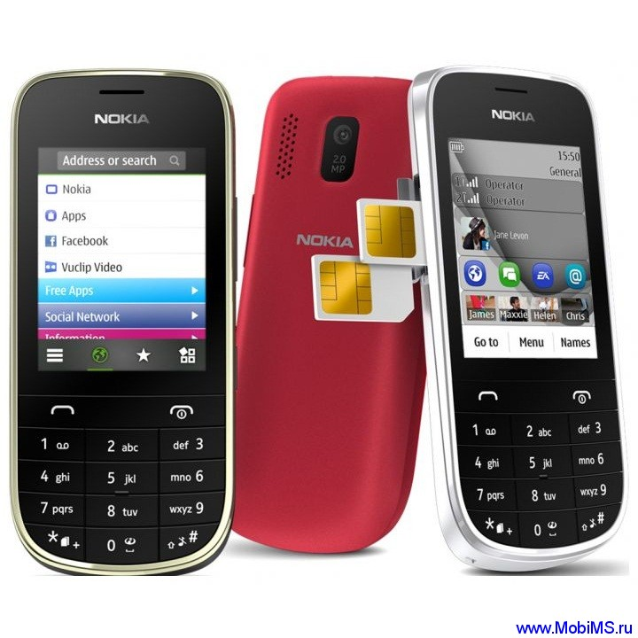 Прошивка для Nokia Asha 202 RM-834 Gr_Rus sw_20.52