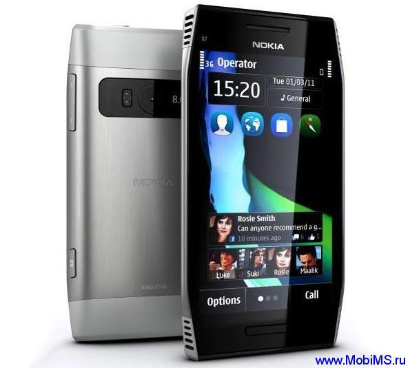 Прошивка для Nokia X7 RM-707 Gr.RUS v111.040.1511