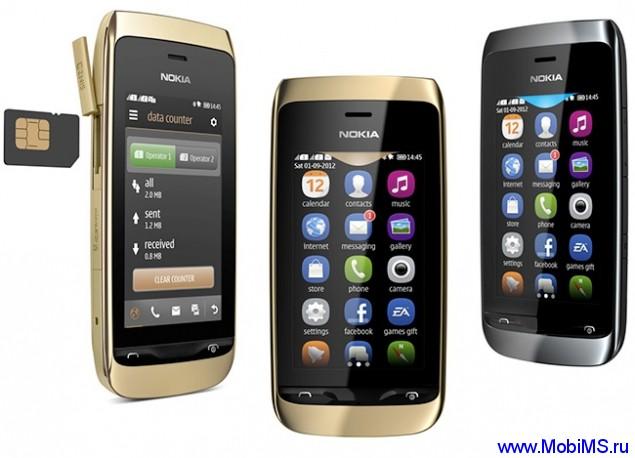 Прошивка для Nokia Asha 308 RM-838 Gr_Rus sw_05.85