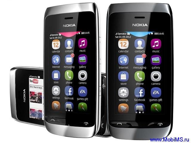 Прошивка для Nokia Asha 309 RM-843 Gr_Rus sw_05.85