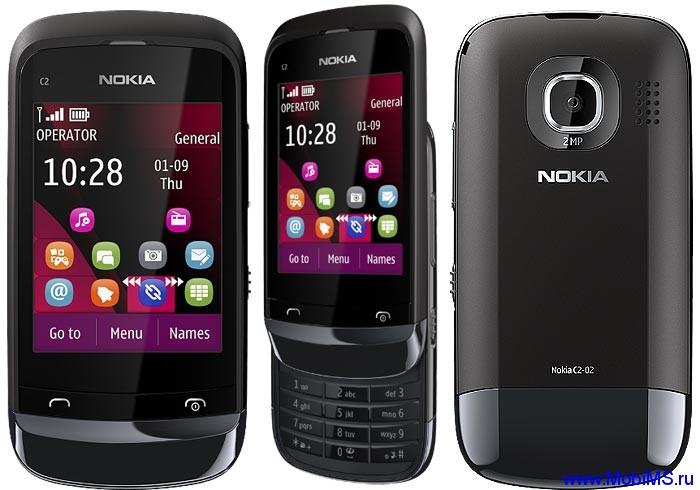 Прошивка для Nokia C2-02 RM-692 Gr_Rus sw_07.63