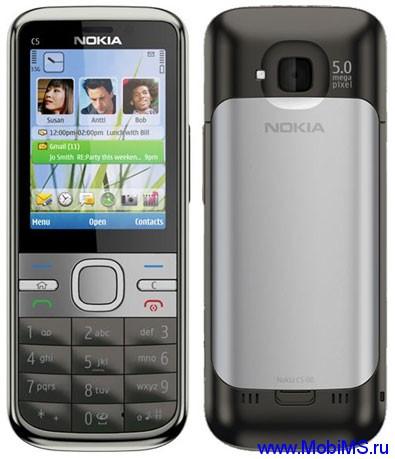 Прошивка для Nokia C5-00 5MP RM-745 Gr_Rus sw_102.002