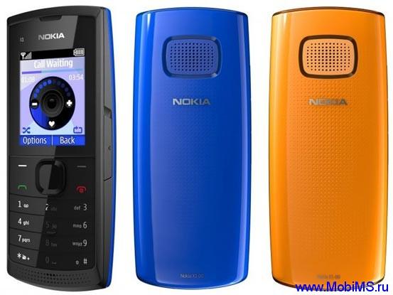 Прошивка для Nokia X1-00 RM-732 Gr_Rus sw_05.95