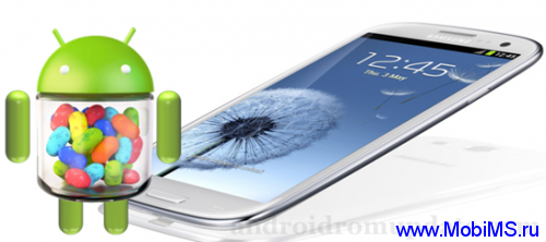 Прошивка I9300XXEMC2 Android 4.1.2 Jelly Bean для Samsung Galaxy S3