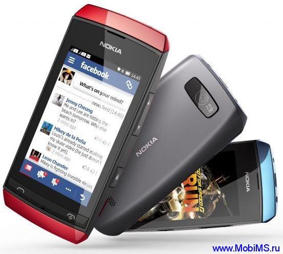 Прошивка для Nokia Asha 305 RM-766 Gr_Rus sw_07.35