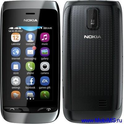 Прошивка для Nokia Asha 310 RM-911 Gr_Rus sw_07.37