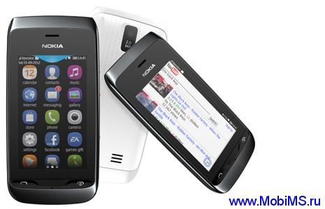 Прошивка для Nokia Asha 309 RM-843 Gr Rus sw_07.55