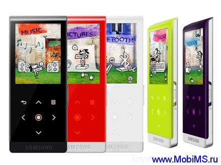 Прошивки, инструкция, программы, игры, драйвер для медиаплеера Samsung YP-T10.
