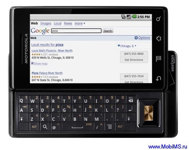 Официальные прошивки для Motorola Droid (A853, A854, A855)