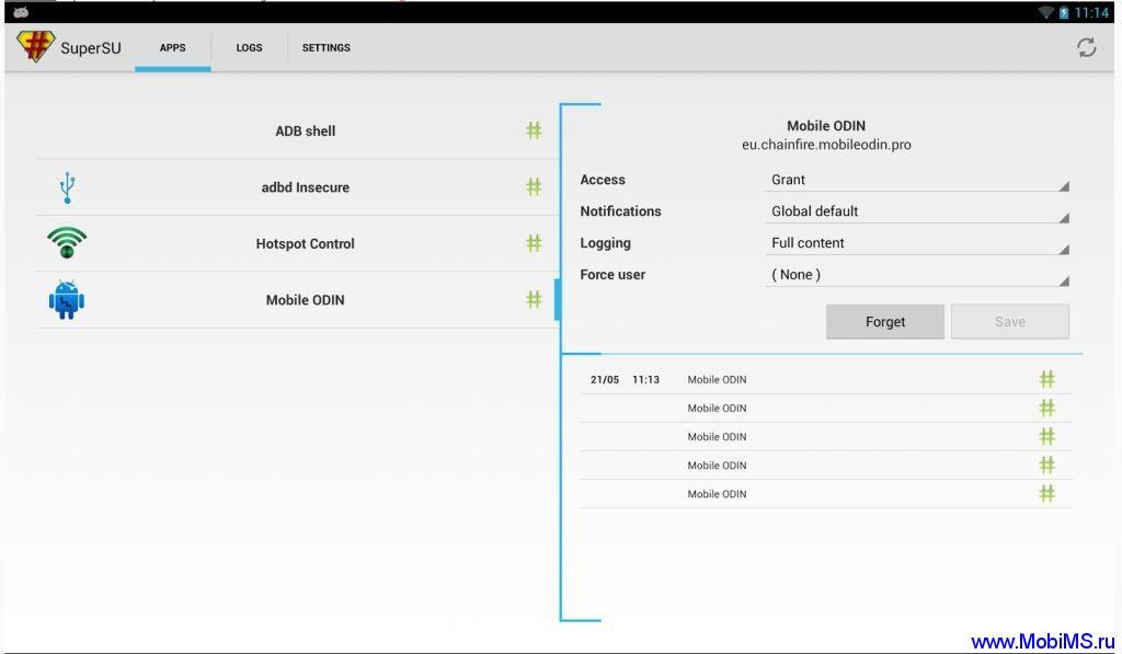 UPDATE-SuperSU-v1.80 последняя версия патча для получения ROOT доступа на Android устройствах.