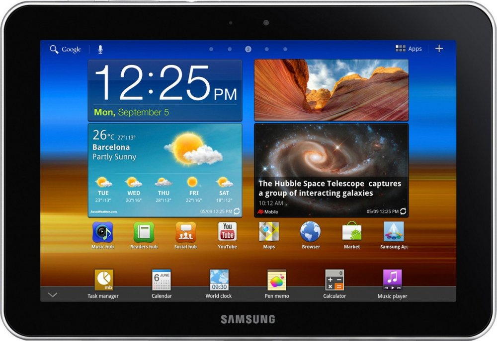 Прошивка для Samsung Galaxy Tab 10.1 (GT-P7500)