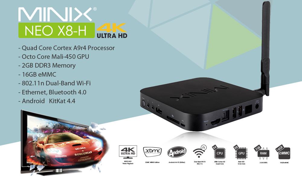 Прошивка Minix Neo X8, X8-H