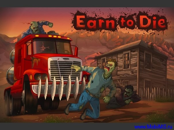 Игра Earn To Die для Android.