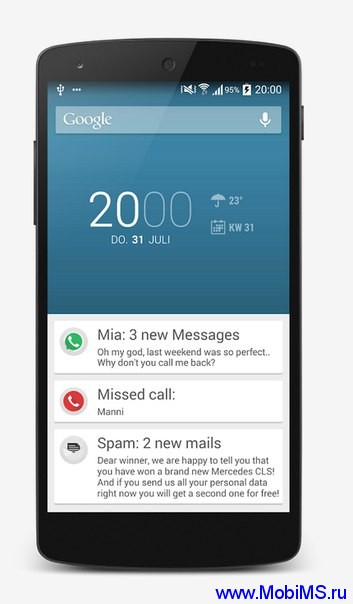 Приложение Floatify - Smart Notifications для Android