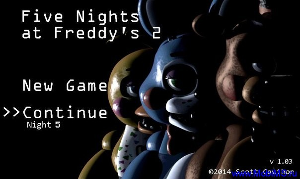 Игра Five Nights at Freddy's 2 для Android