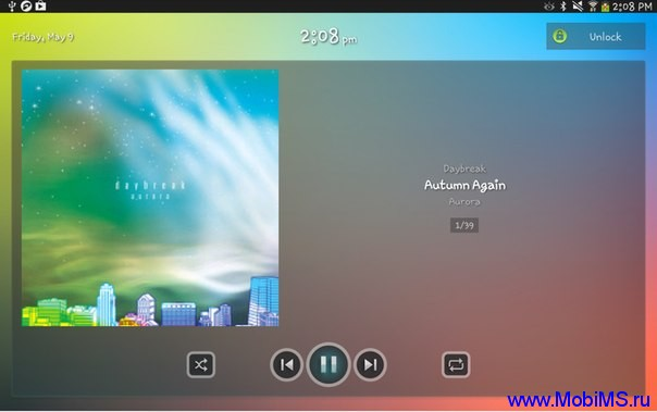 Приложение JetAudio для Android