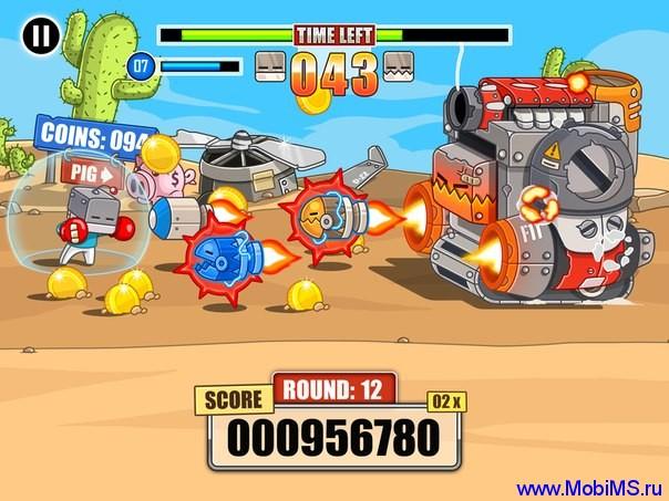 Endless Boss Fight 1.10 Много денег и жизней
