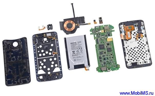 Google Nexus 6 набрал 7 из 10 баллов по ремонтоспособности iFixit.