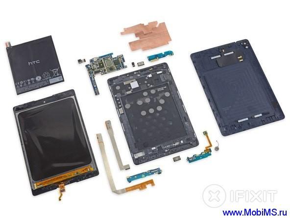 У Nexus 9 с ремонтопригодностью все плохо. Всего 2 из 10.