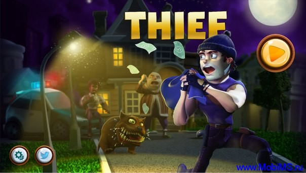 Игра Thief: Tiny Clash для Android