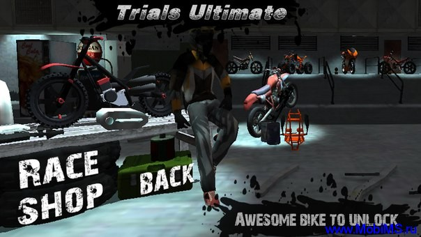 Игра Trials Ultimate 3D HD для Android